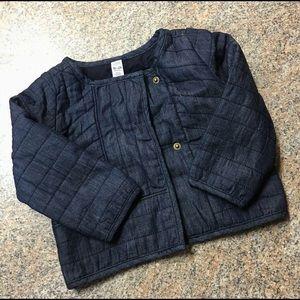 Gap soft denim jacket sz 18-24 months EUC